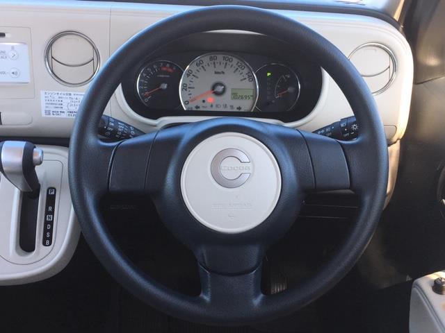 ココアプラスX 4WD 純正オーディオ CD AUX ドアバイザー 電動格納ミラー ウィンカーミラー フォグランプ ライトレベライザー スマートキー(6枚目)