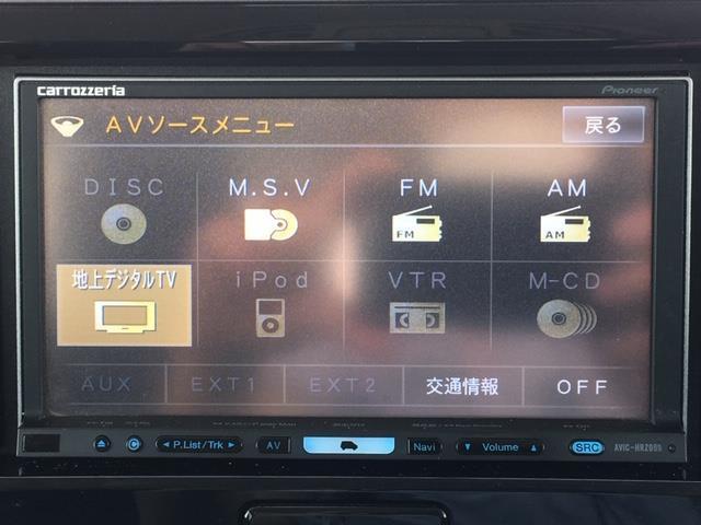 ハイウェイスター X Gパッケージ 両側パワースライドドア 社外HDDナビ AVIC-HRZ099 ワンセグTV DVD アラウンドビューモニター プッシュスタート ウィンカーミラー 電動格納ミラー HIDライト スマートキー ETC(9枚目)