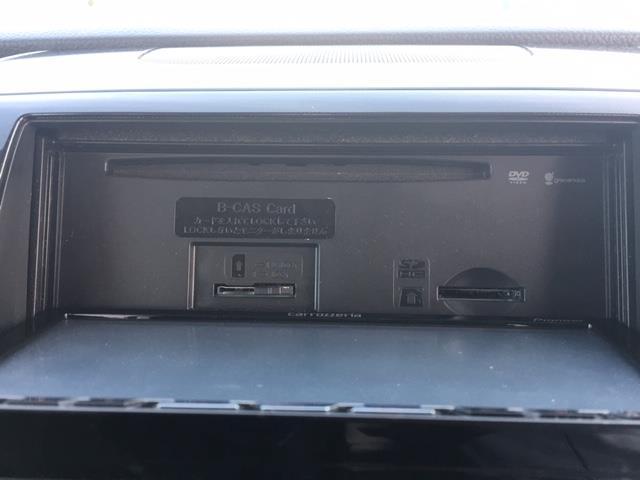 リミテッド 社外HDDナビ AVIC-ZH07 フルセグTV DVD CD Bluetooth プッシュスタート ハーフレザーシート スマートキー 革巻ステアリング 電動格納ミラー HIDライト フォグランプ(10枚目)