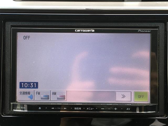 Fパッケージ 社外メモリナビ FM AM CD AUX USB 横瀬べり防止機能 電動格納ミラー ヘッドライトレベライザー LEDヘッドライト プッシュスタート スマートキー 取扱説明書(8枚目)