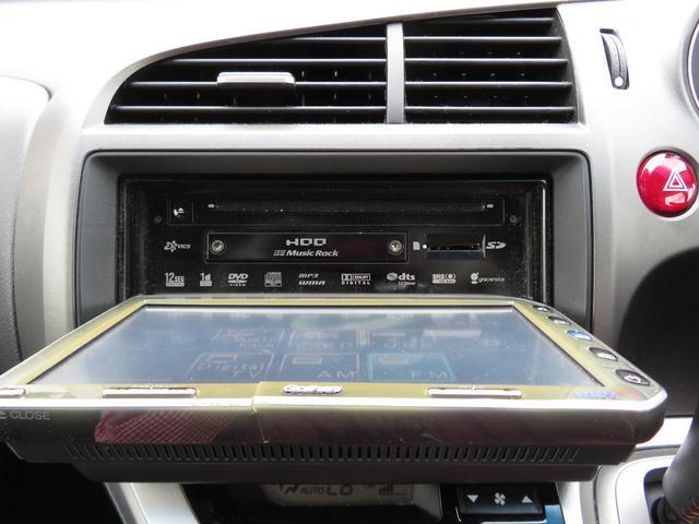 RSZ Sパッケージ 純正HDDナビ フルセグTV CD/DVD再生 バックカメラ ETC パドルシフト オートエアコン キーレスキー オートライト HIDヘッドライト フォグランプ 本革巻きステアリング 純正R17AW(23枚目)
