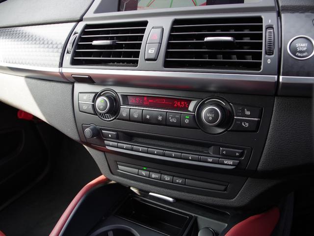 BMW BMW X6 xDrive 35i 赤革シート