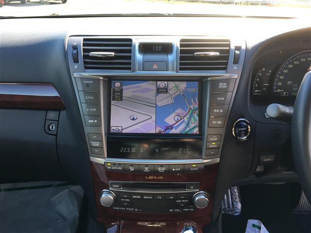 レクサス LS 600h Iパッケージ 4WD 1オーナー 革シート ETC