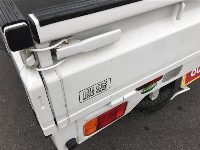 農繁 1オーナー 5MT 4WD 純正ラジオ(8枚目)
