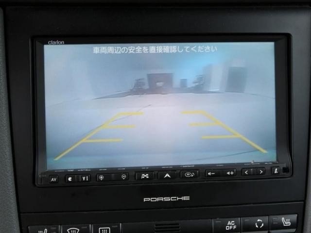 バックカメラ付き!狭い駐車場でも安心して駐車できます!