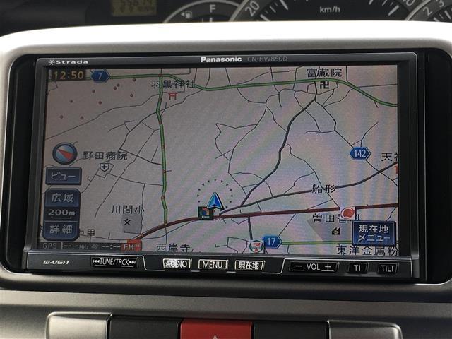 ダイハツ タント カスタム RS ワンオーナー HDDナビ ディスチャージ