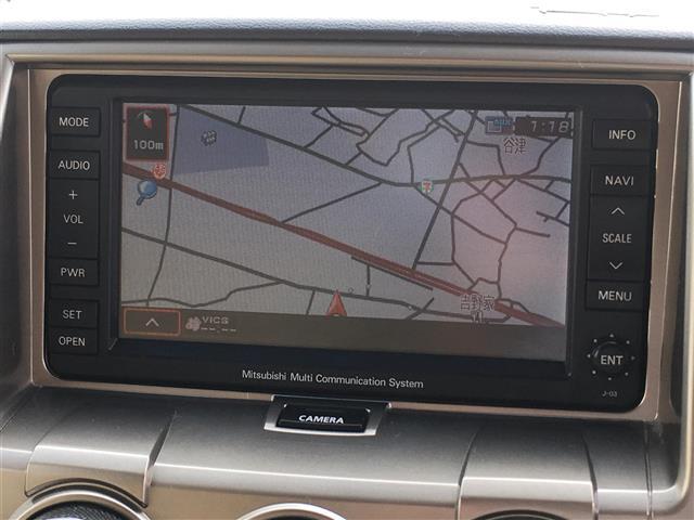 三菱 デリカD:5 G-Premium 1オナ サンルーフ HDDナビDVD再生