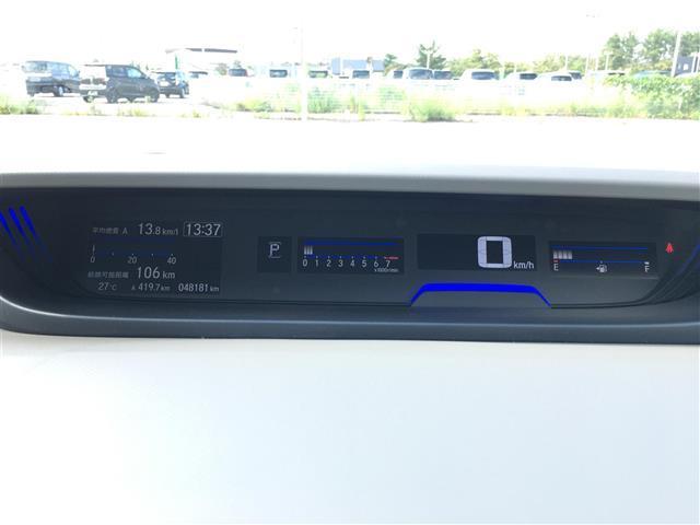 G・ホンダセンシング 衝突軽減装置 純正HDDナビ バックカメラ ETC 両側電動ドア レーダークルーズコントロール LEDヘッドライト ハーフレザーシート 純正15インチアルミホイール(5枚目)