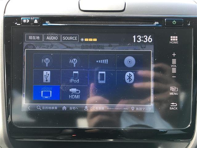 G・ホンダセンシング 衝突軽減装置 純正HDDナビ バックカメラ ETC 両側電動ドア レーダークルーズコントロール LEDヘッドライト ハーフレザーシート 純正15インチアルミホイール(7枚目)