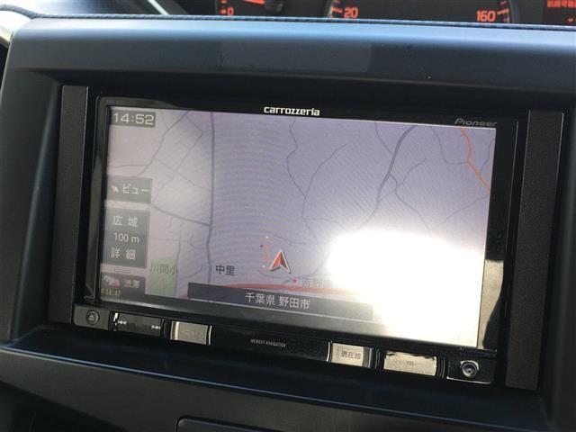 G 社外メモリナビCD DVDETC シートヒーター 片側パワースライドドア 純正フロアマット スマートキー プッシュスタート(4枚目)