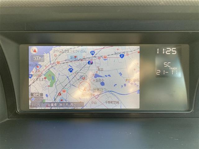 G Aero HDDナビパッケージ リモコンキー 純正HDDナビ バックカメラ ビルトインETC ステアリングスイッチ 純正マット 片側電動ドア(5枚目)