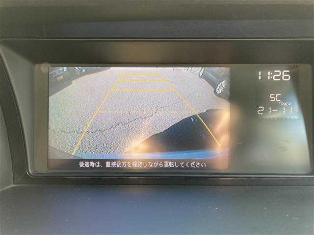 G Aero HDDナビパッケージ リモコンキー 純正HDDナビ バックカメラ ビルトインETC ステアリングスイッチ 純正マット 片側電動ドア(20枚目)