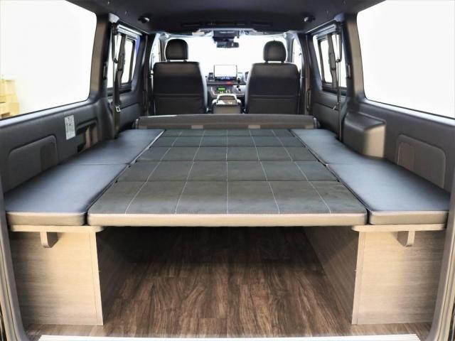 FLEX Ver4 DP2内装架装 BIG-X 専用床張り(4枚目)