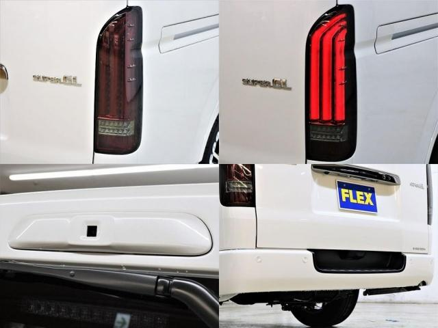 FLEXオリジナル【ULTIMATE】LEDテールランプ、デジタルインナーミラーカメラ、インテリジェントクリアランスソナー!