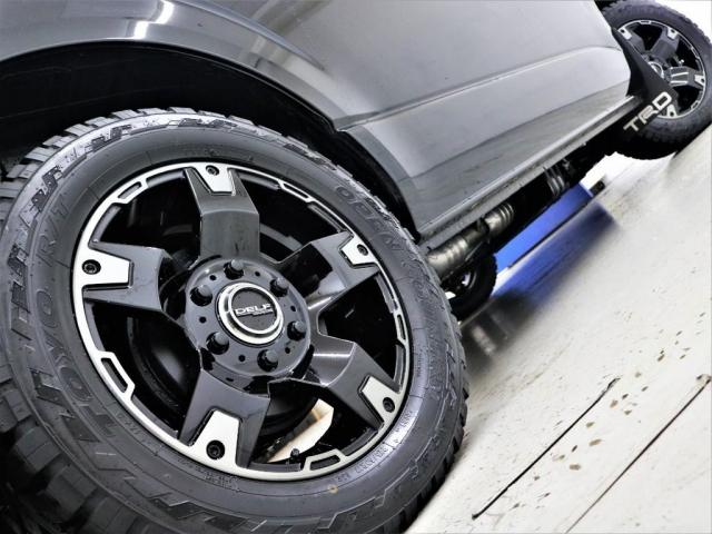 17inchFLEXオリジナル【Delf03】アルミホイール&17inchTOYO OPEN COUNTRYタイヤ装着!!