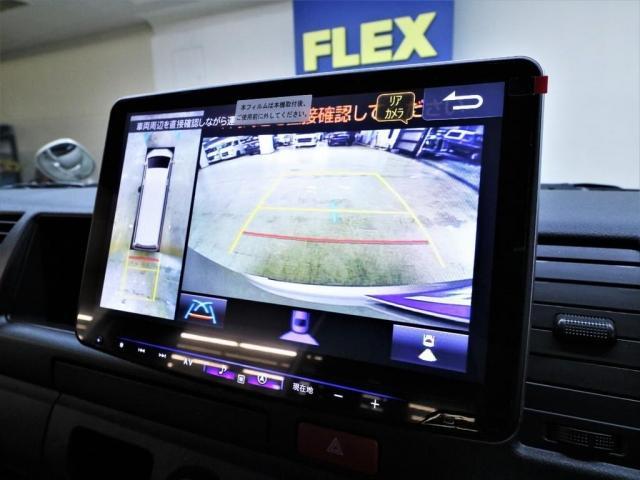 DX ワイド スーパーロング GLパッケージ LEDヘッドライト デジタルインナーミラー インテリジェンスクリアランスソナー パノラミックビューモニター BIG-X ドラレコ 床張り トリムレザー 跳ね上げ式ベッド(11枚目)
