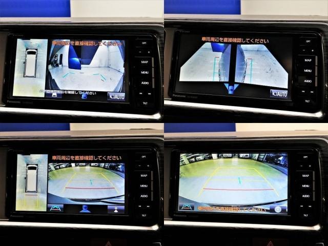 GL デジタルインナーミラー インテリジェントクリアランスソナー パノラミックビューモニター ストラーダSDナビ ETC ALPINEフリップダウンモニター Ver5内装架装(15枚目)