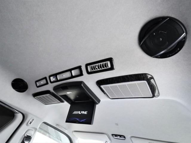 マルチロールトランスポータータイプII 寒冷地仕様 レガンスフルエアロ ヴァレンティヘッドライト 415コブラテールランプ サブモニター フリップダウンモニター 新品20インチアルミ 新品シートカバー(15枚目)