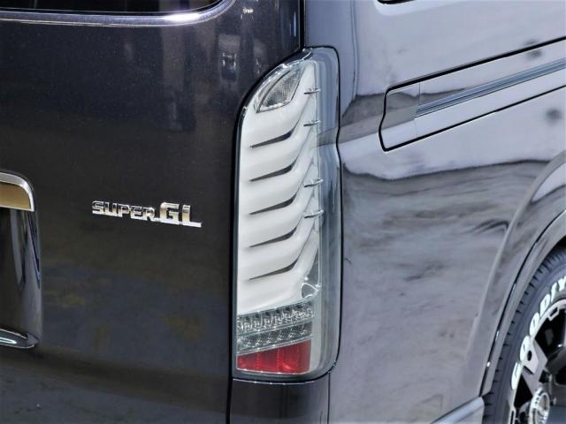 スーパーGL ダークプライムII ロングボディ BIG-X11インチナビ ドラレコPKG PVM変換 ビルトインETC ルーフスピーカー オリジナルシグマテール オリジナルアルミホイルデルフ03 ナスカータイヤ(4枚目)