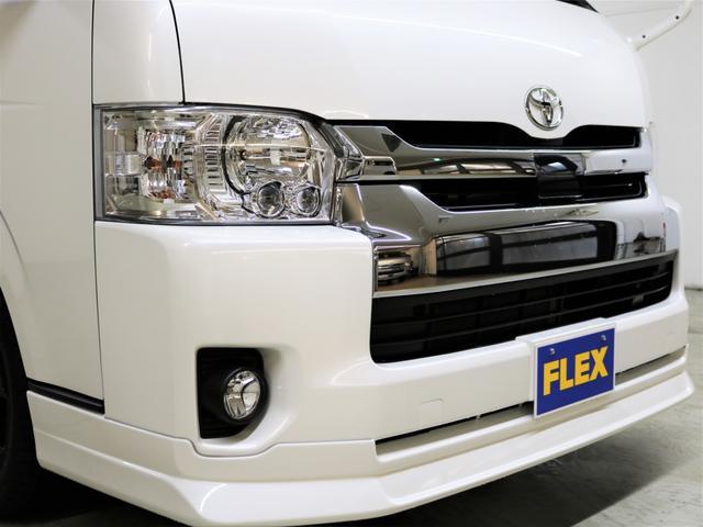 FLEXアレンジR1内装架装 ナビ フリップダウンモニター(15枚目)