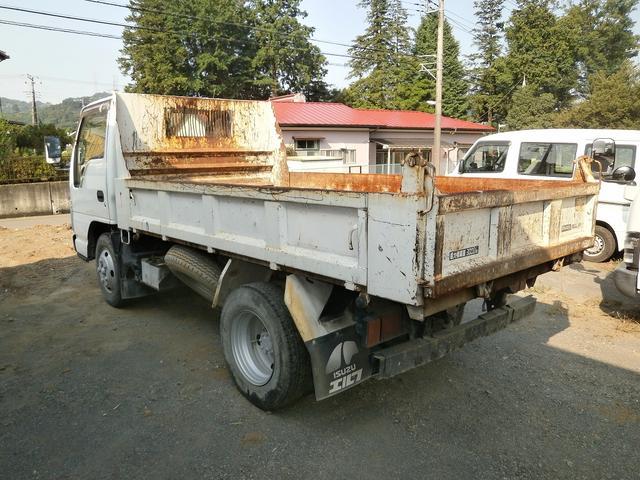 いすゞ エルフトラック 3tダンプ 高床