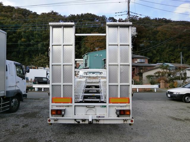三菱ふそう キャンター 3.45t 2台積 キャリアカー ラジコン付
