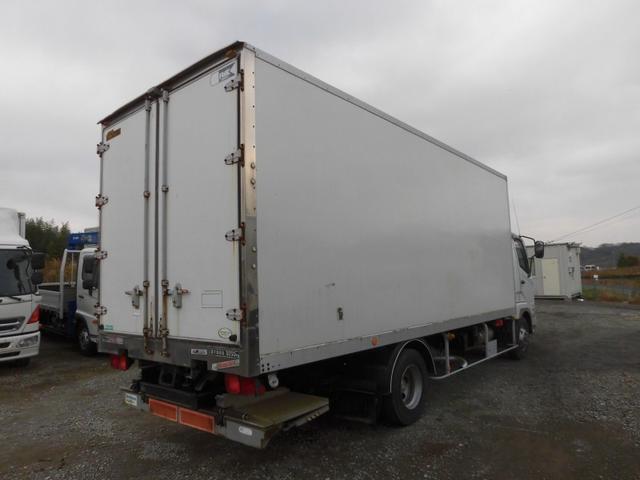 4t標準 冷蔵冷凍車 低温  格納パワーゲート ベッドレス(2枚目)