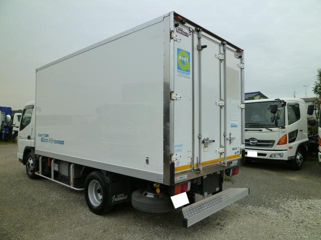 3tワイドロング 冷蔵冷凍車 低温 3枚扉 高床(4枚目)