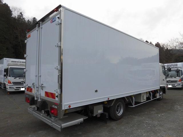4tワイド 冷蔵冷凍車 低温 格納パワーゲート リアエアサス(4枚目)