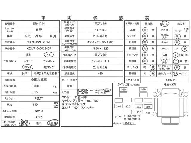 3tワイドロング 冷蔵冷凍車 低温 サイドドア 全低床 2室(3枚目)