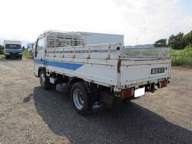 いすゞ エルフトラック 2.95t標準ショート 平ボデー 低床