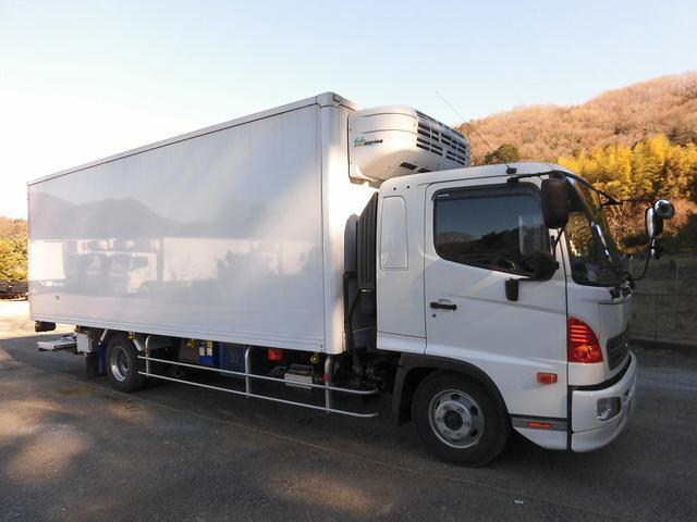 4tワイド 冷蔵冷凍車 低温 格納パワーゲート リアエアサス(16枚目)