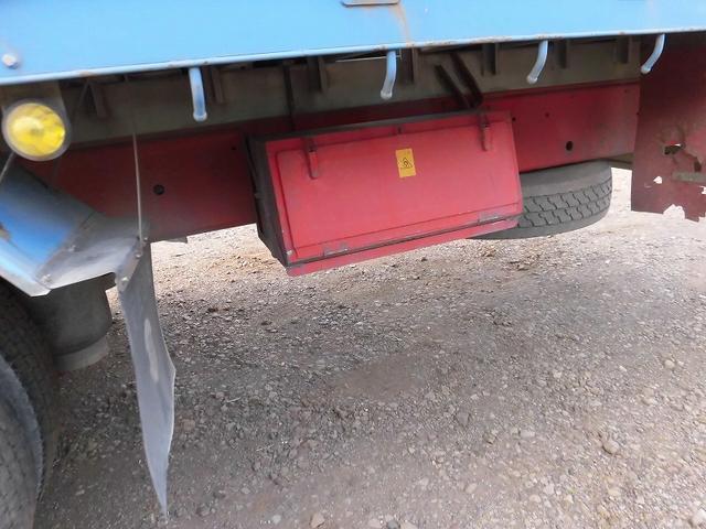 日野 プロフィア 10t超 平ボデー 3軸 1デフ リアエアサス ETC