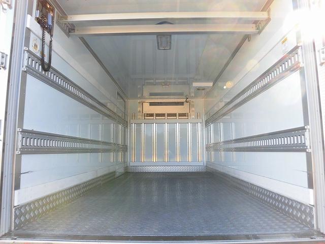 3tワイドロング 冷蔵冷凍車 低温 格納パワーゲート(4枚目)