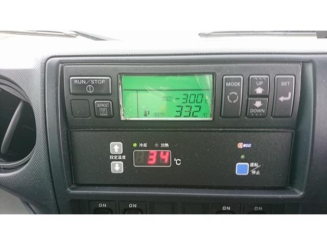 3tワイドロング 冷蔵冷凍車 低温 格納パワーゲート(8枚目)