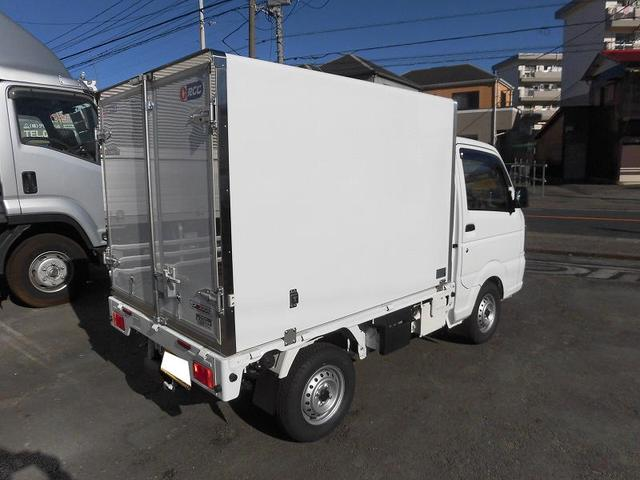 スズキ キャリイトラック 軽トラック 冷蔵冷凍車 中温