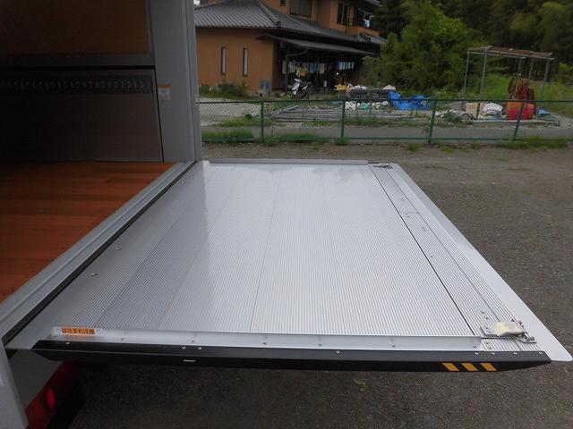 4t標準 アルミウィング 跳ね上げゲート ベッド付(20枚目)