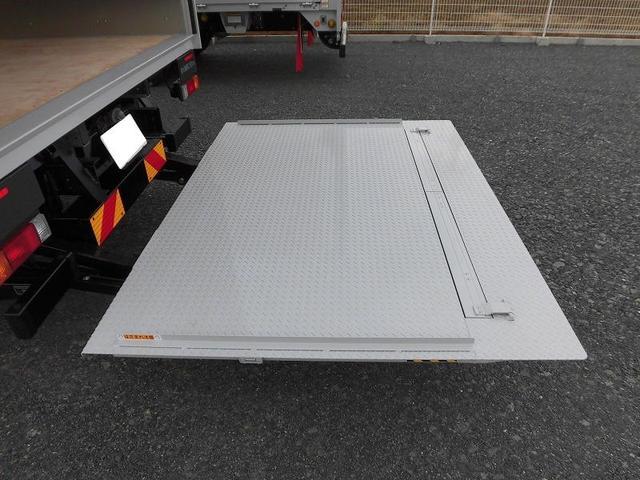 3.5tワイド超ロング アルミバン 跳ね上げゲート 高床(6枚目)