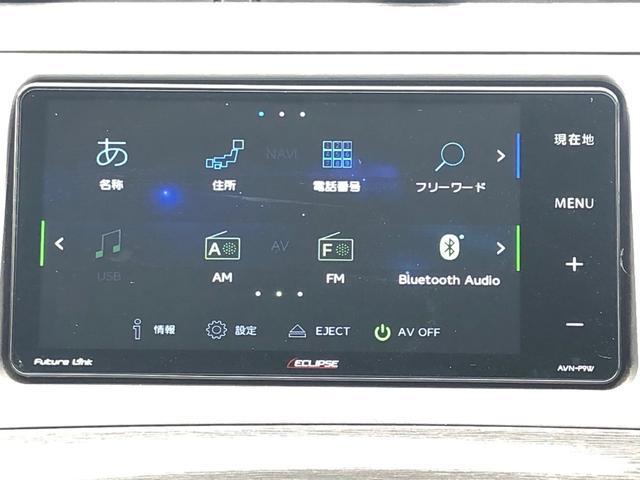 【社外SDナビ】CD・DVDの再生はもちろん、フルセグ・Bluetoothにも対応しているのでドライブが快適になりますね!!