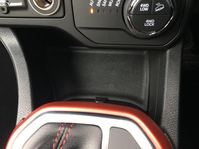 トレイルホーク 4WD Uconnectナビ 前面衝突警報(17枚目)
