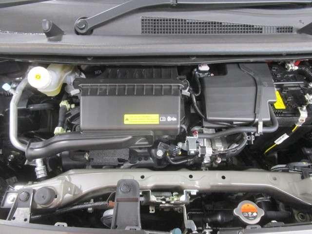 ハイブリットシステム付き660CCエンジン。