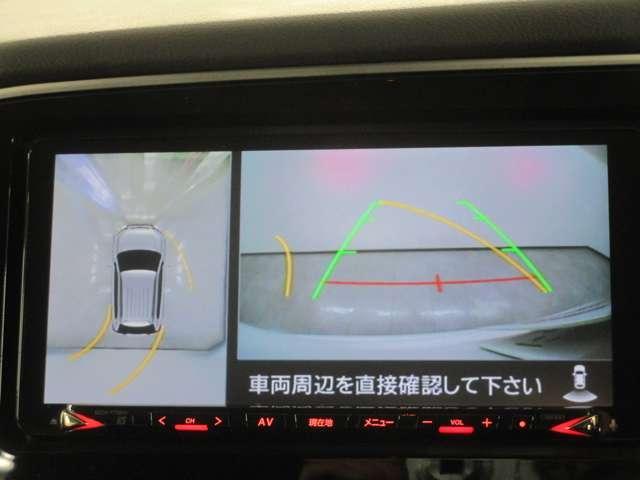 マルチアラウンドモニターを装備!駐車の際これがあれば運転に自信がない方も安心です!一度使うと手放せない装備です!