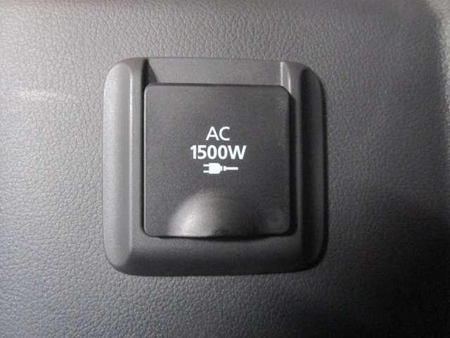 人気装備のAC100V(1500W)電源です!