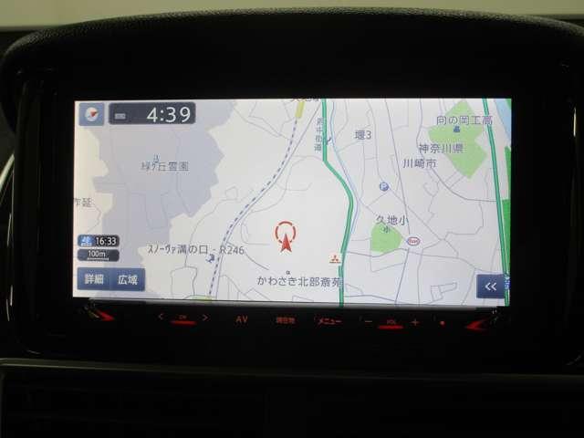 メモリーナビ付。知らない道も快適ドライブ。高画質の綺麗な画面で検索スピードも速く目的地までわかりやすく案内します。