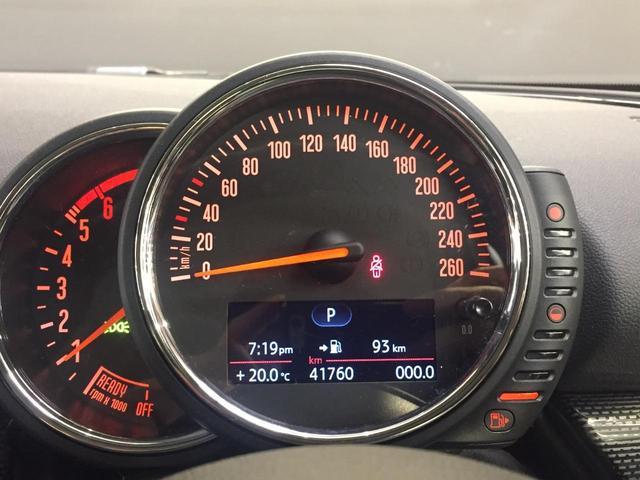 クーパーD クラブマン クルーズコントロール/パークディスタンスコントロール/LEDヘッドライト/フルセグTV AUX接続/ミラー一体型ETC/ミュージックコレクション/Bluetooth接続/コンフォートアクセス(9枚目)