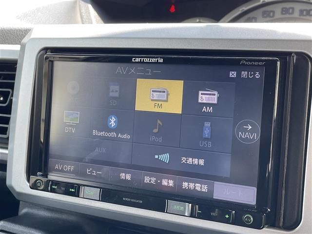 X SA 社外メモリナビ バックカメラ フルセグ 衝突被害軽減システム 左側電動スライドドア スマートキー(5枚目)