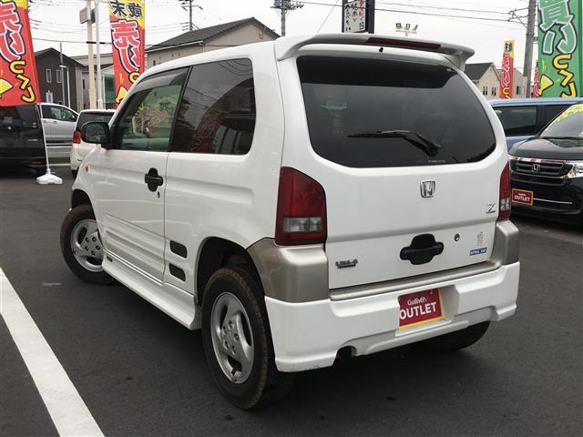 ホンダ Z ターボ 4WD CD MD