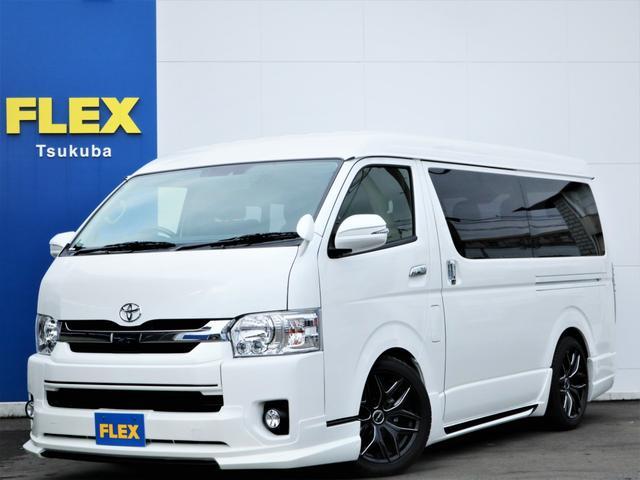 新車ハイエースW「GL」10人乗り2WDガソリン車!WALDフルエアロコンプリート!