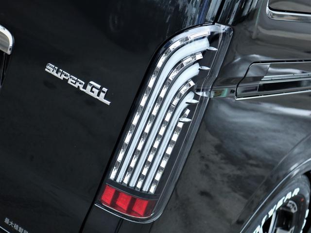 スーパーGL ダークプライムII 17AW ローダウン エアロ SDナビ フルセグTV ETC パワスラ ナスカータイヤ ベッドキット(8枚目)