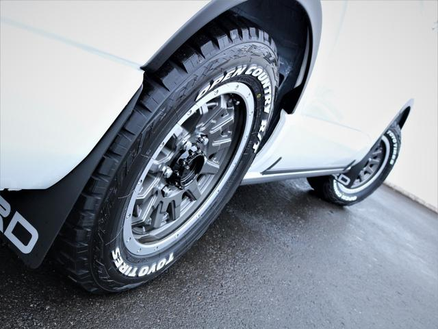 GL 重歩行フロア施工 高さ調整式ベッドキット EX16インチAW オープンカントリータイヤ 網戸 防虫ネット カロッツェリアSDナビ フルセグTV(19枚目)